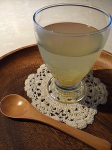 柚子茶いただきます
