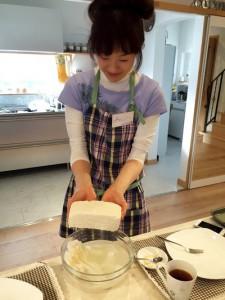お豆腐誕生