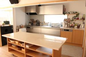キッチンcocona風景